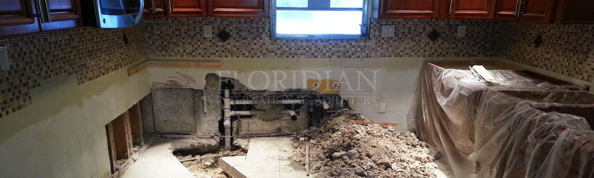 Kitchen Broken Drain