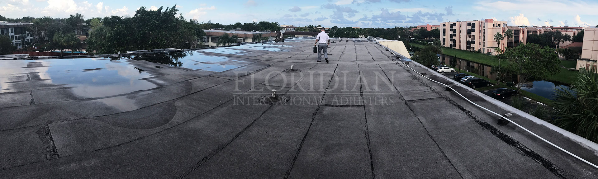 Commercial Roof Claim