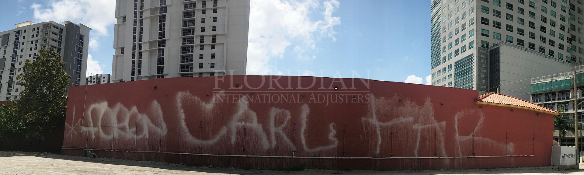 Vandalism claims