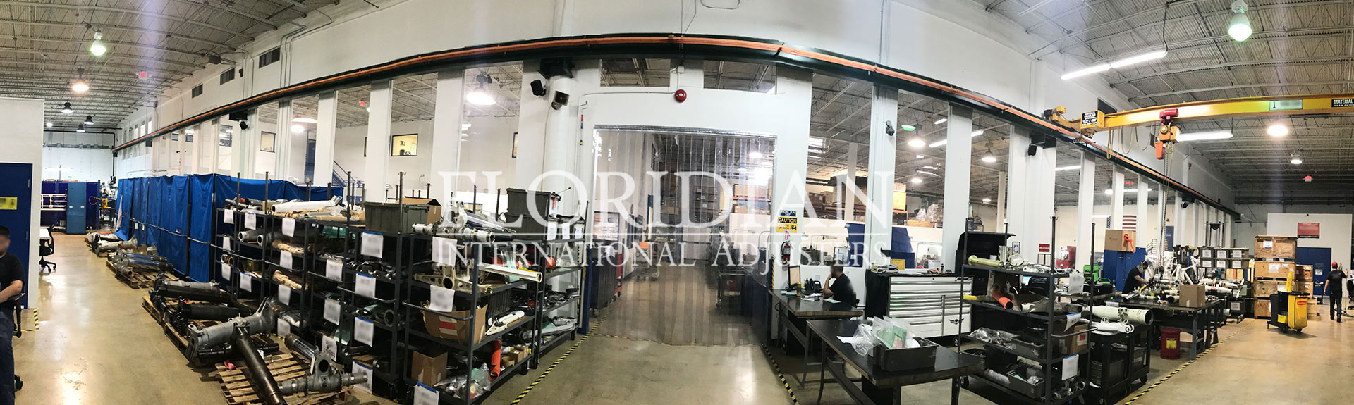 industrial warehouse claim