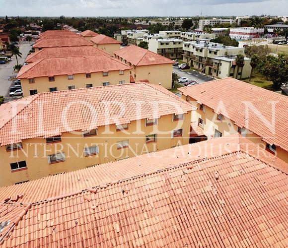 Tile Roof Damage Commercial